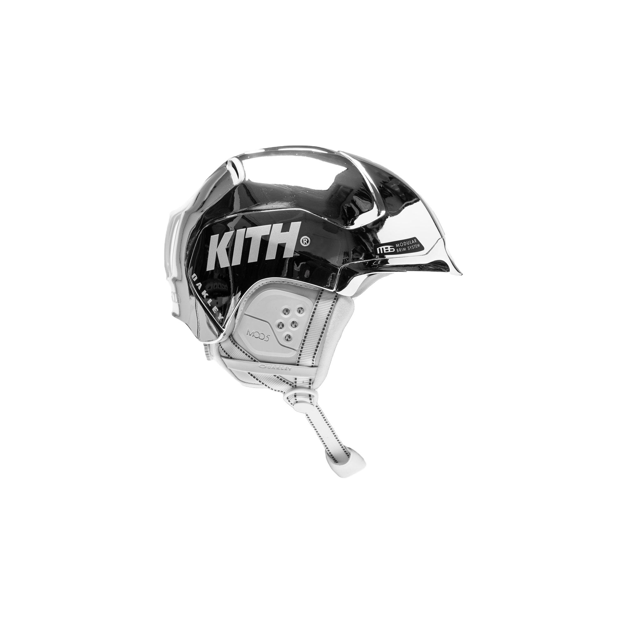 Kith x Oakley Mod5 Helmet Chrome