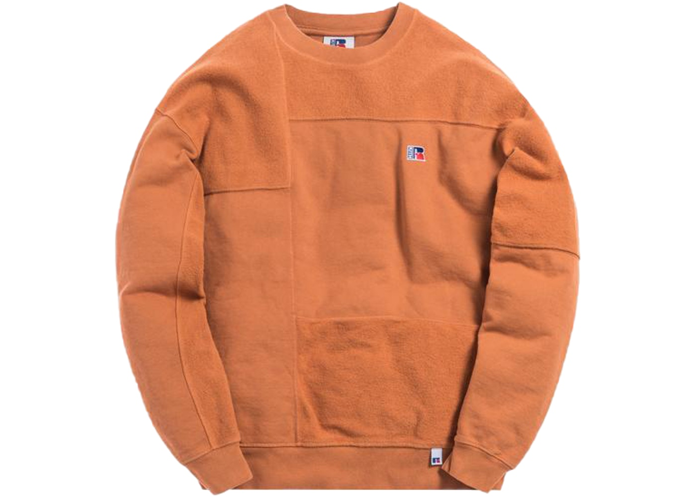 Kith x Russell Athletic Reverse Crewneck Amber Brown