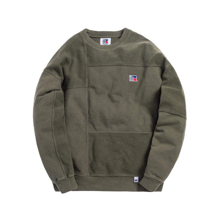 Kith x Russell Athletic Reverse Crewneck Climbing Ivy