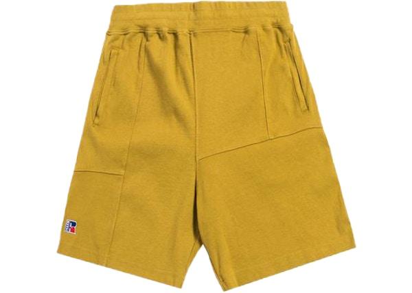 91f1e775 Kith x Russell Athletic Reverse Shorts Honey