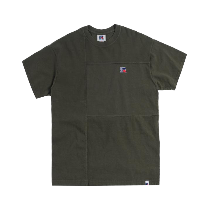 Kith x Russell Athletic Reverse Tee Climbing Ivy