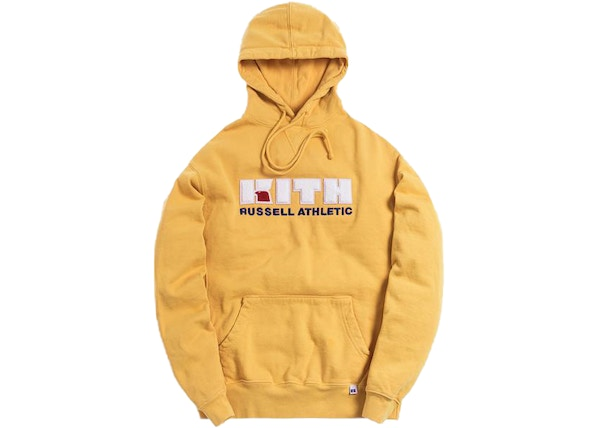 0ff09e1d Kith x Russell Athletic Varsity Logo Hoodie Golden Apricot