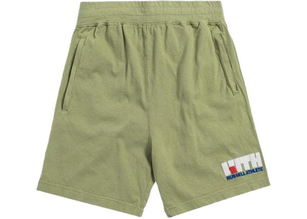 d67e1f4b Kith x Russell Athletic Varsity Logo Shorts Mistletoe