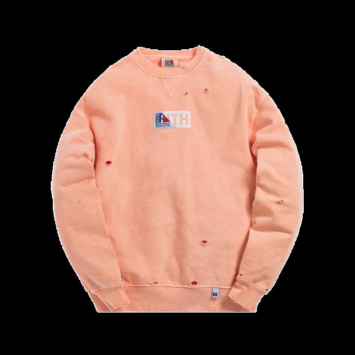 Kith x Russell Athletic Vintage Crewneck Peach