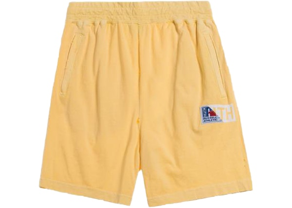 8ff83f5b Kith x Tommy Hilfiger Twill Pleated Chino Khaki. lowest ask. $123. Kith x  Russell Athletic Vintage Shorts Golden Haze