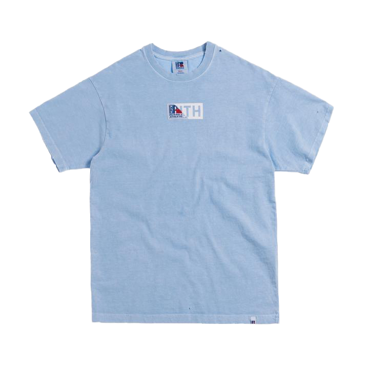 Kith x Russell Athletic Vintage Tee Chambray Blue