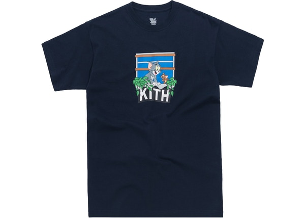 2fc71fad Kith x Tom & Jerry Hang Out Tee Navy