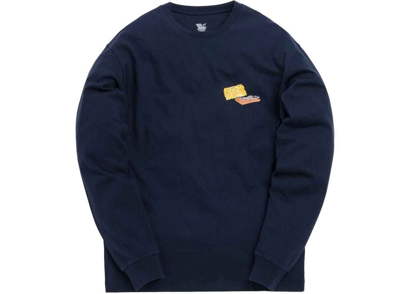 be52a68c Kith x Tom & Jerry L/S Cheese Tee Navy - SS19