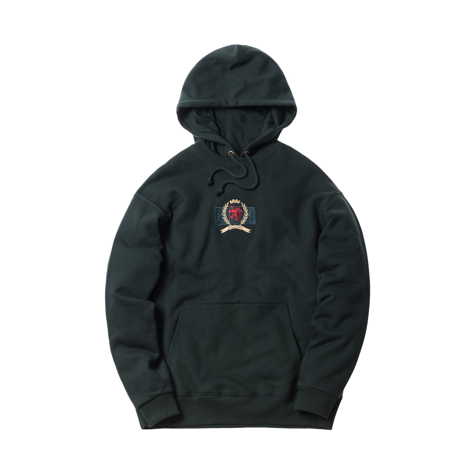 Kith X Tommy Hilfiger Crest Hoodie Forest by Stock X