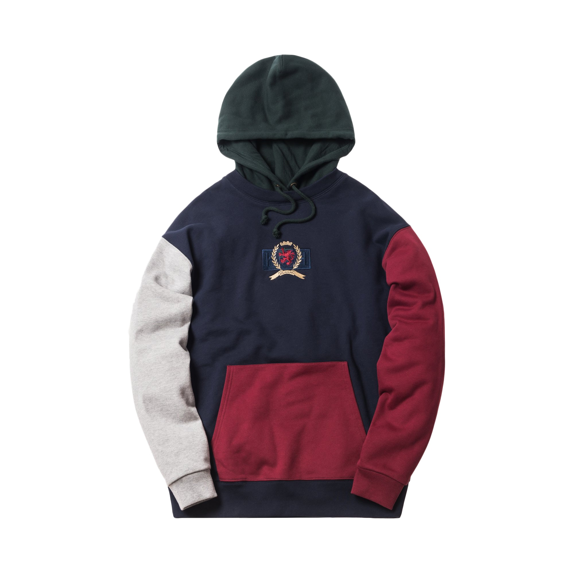 Kith X Tommy Hilfiger Crest Hoodie Multi by Stock X