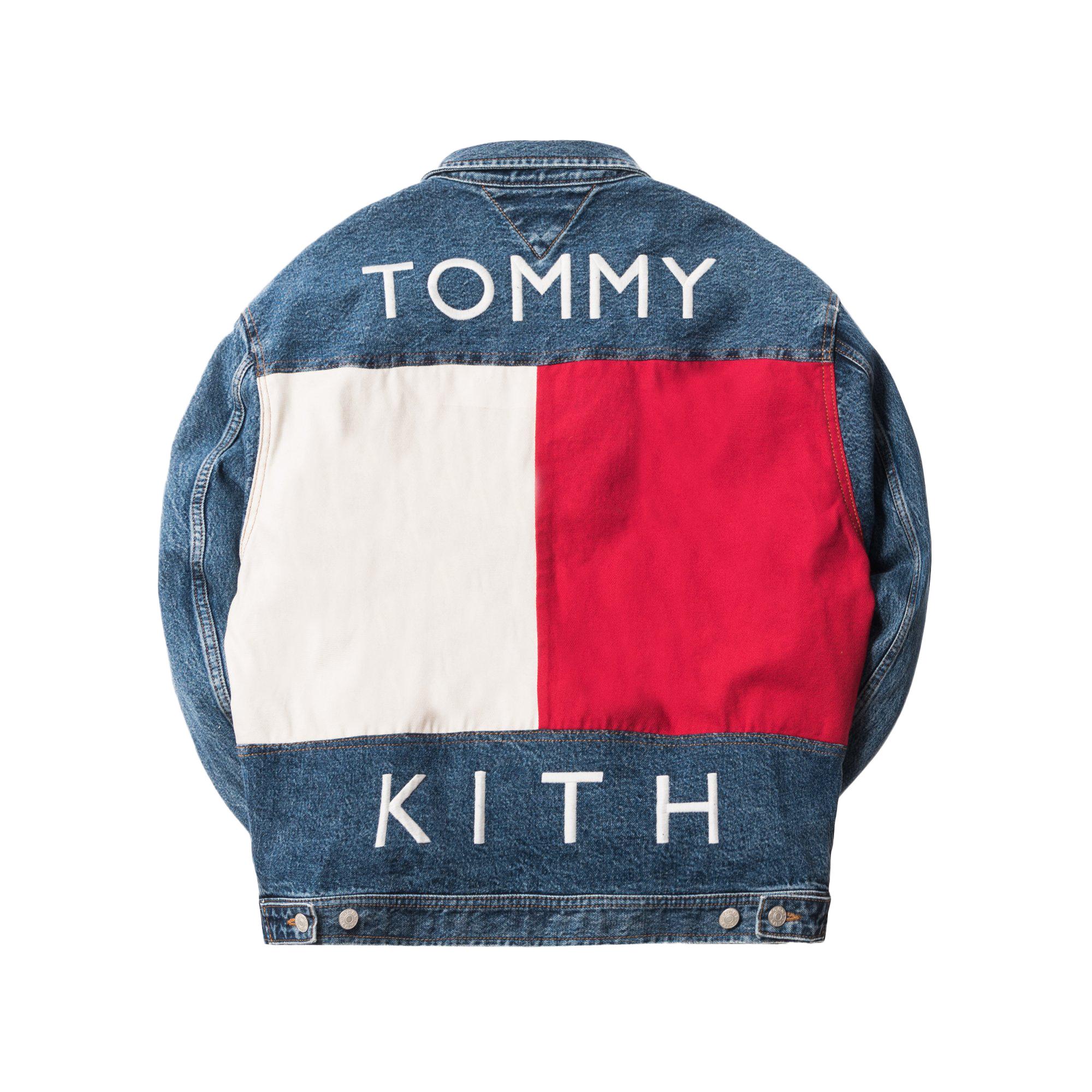 20cd67a1d3fd Kith tommy hilfiger denim trucker jacket vintage blue jpg 1400x1000 Tommy  hillfiger