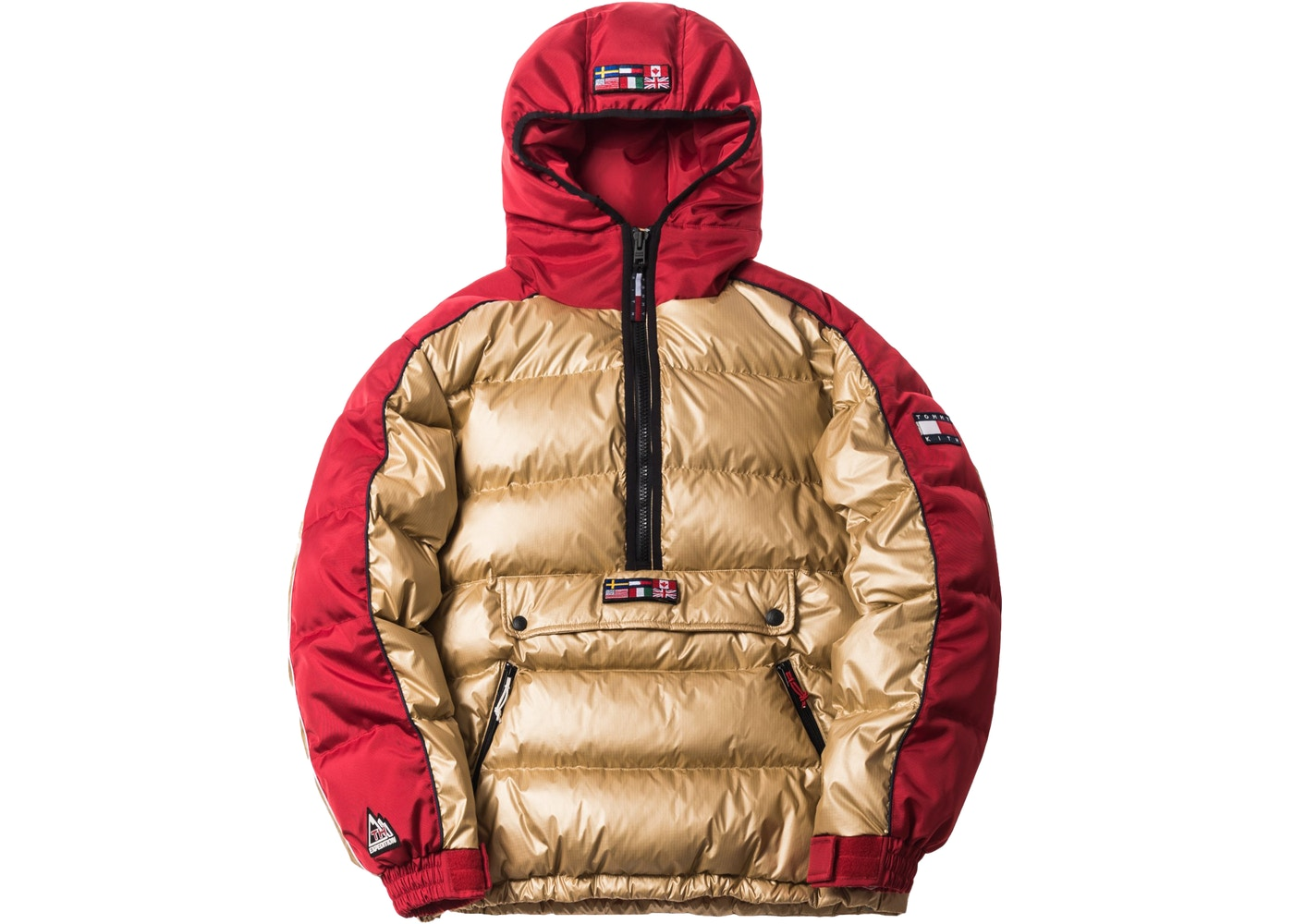 264441e6 Kith x Tommy Hilfiger Expedition Puffer Pullover Gold - FW18