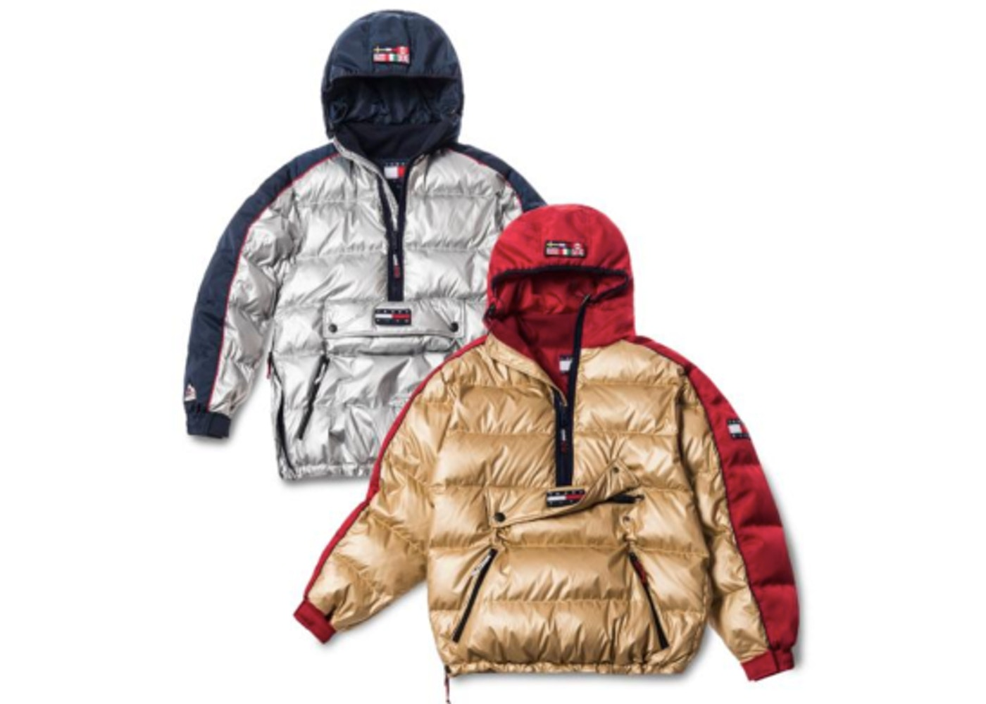 4c59a4d7 Kith x Tommy Hilfiger Expedition Puffer Pullover Gold