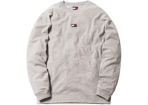 09b9a1b7 Kith x Tommy Hilfiger Long Sleeve Tee Grey - FW18