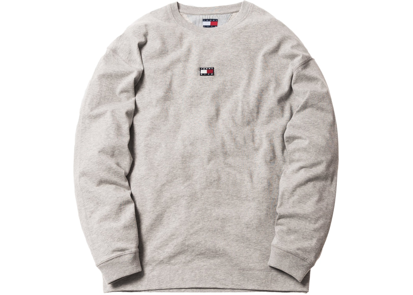 0ded9985 Kith x Tommy Hilfiger Long Sleeve Tee Grey - FW18