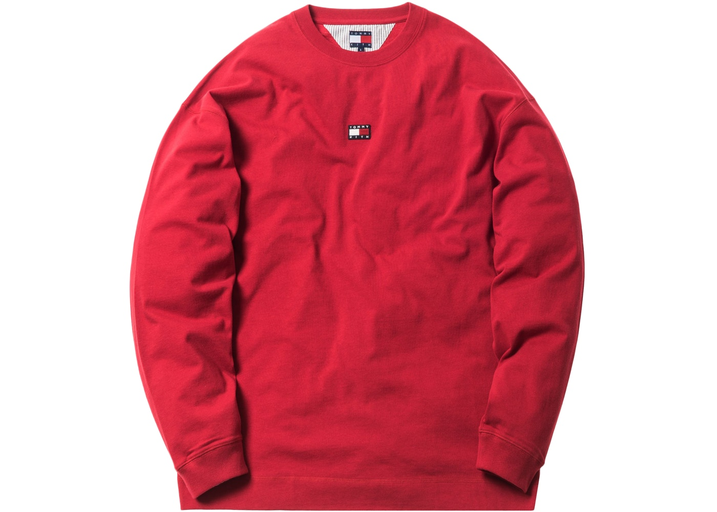 bade26fc Kith x Tommy Hilfiger Long Sleeve Tee Red - FW18