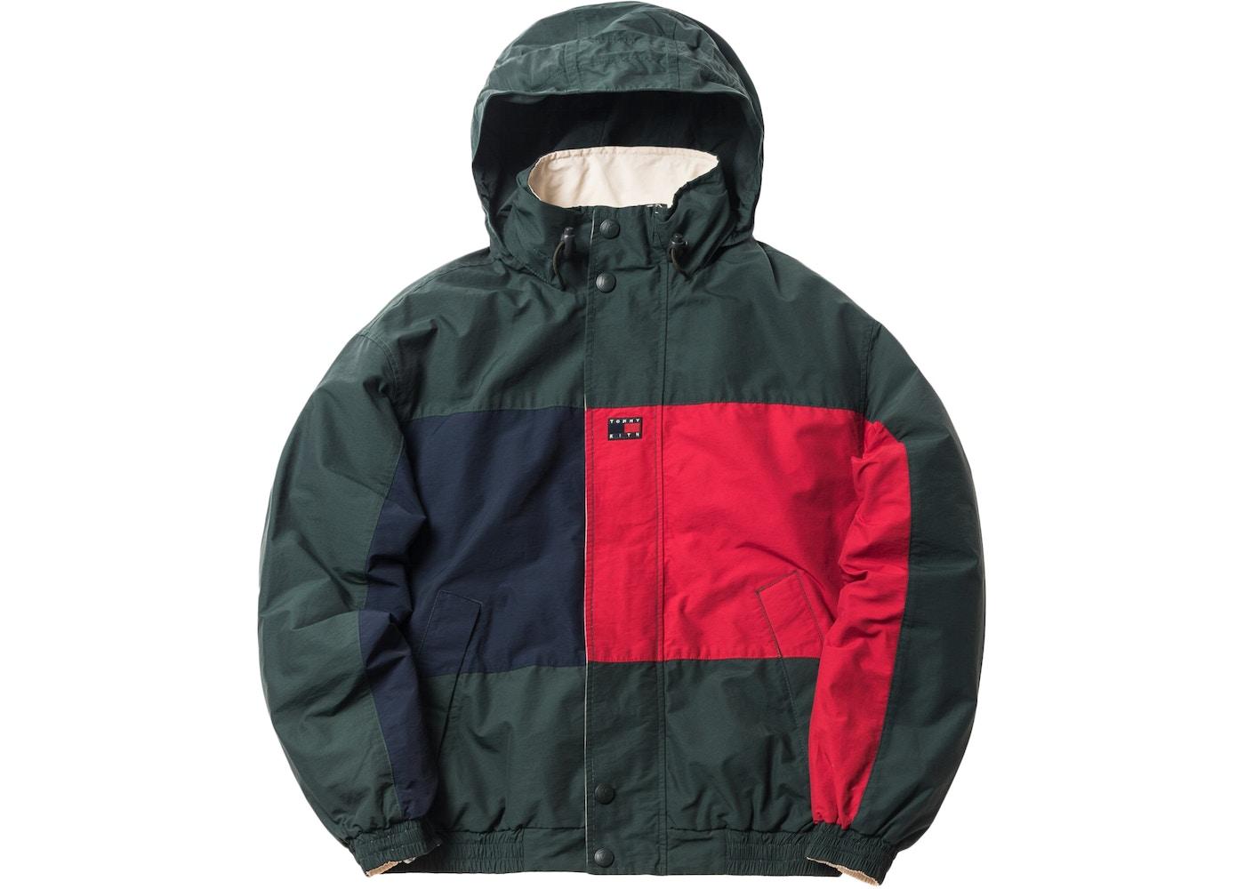 neue Season großer Rabatt überlegene Leistung Kith x Tommy Hilfiger Reversible Colorblack Jacket Forest/Cream