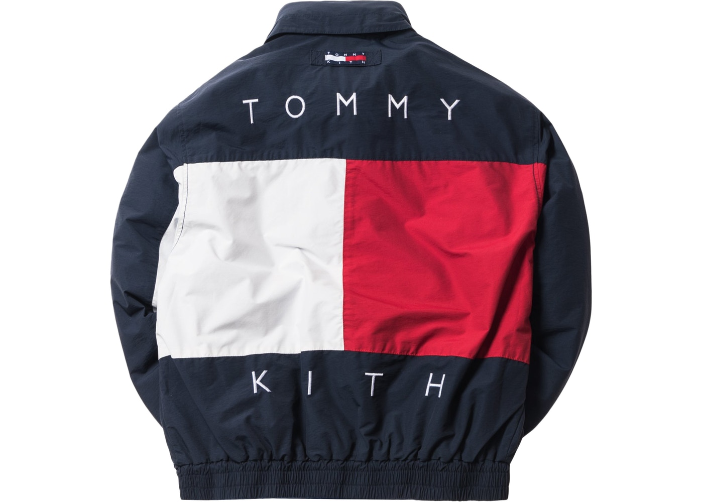 36ef68c2f3 Kith x Tommy Hilfiger Reversible Colorblack Jacket Navy/Blue