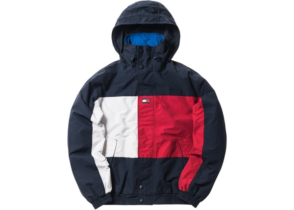 6a160665 Kith x Tommy Hilfiger Reversible Colorblack Jacket Navy/Blue