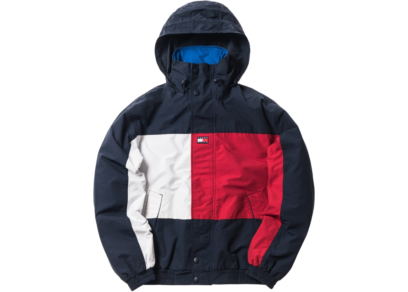 e226b354 Kith x Tommy Hilfiger Reversible Colorblack Jacket Navy/Blue - FW18