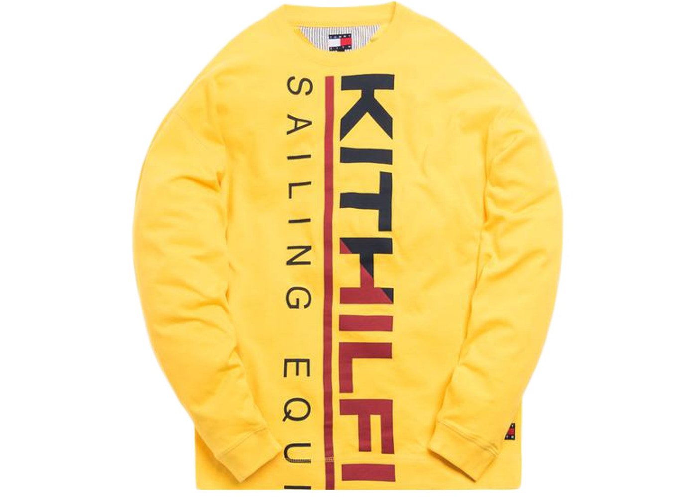 los angeles great deals 2017 nice cheap Kith x Tommy Hilfiger Sailing L/S Tee Yellow
