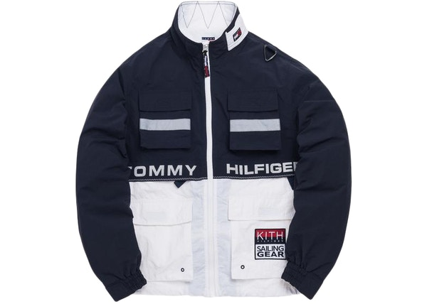 222fc907 Kith x Tommy Hilfiger Sailing Utility Jacket Navy/White