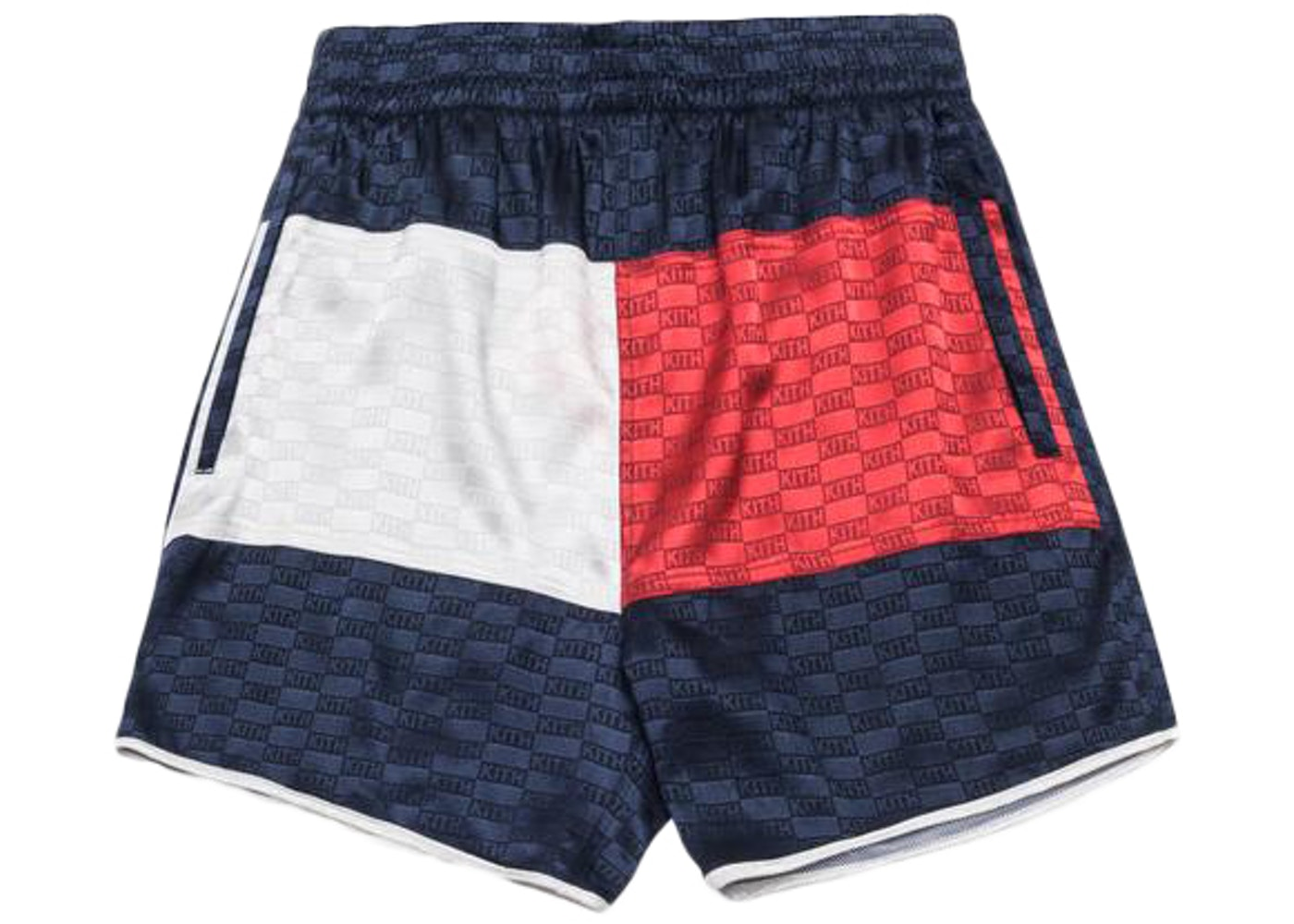 21344ad128d7 Kith x Tommy Hilfiger Satin Boxing Short Navy. x Tommy Hilfiger Satin Boxing