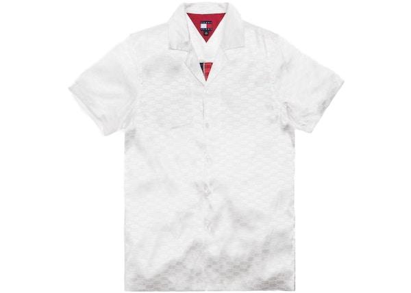Kith x Tommy Hilfiger Satin Camp Shirt White