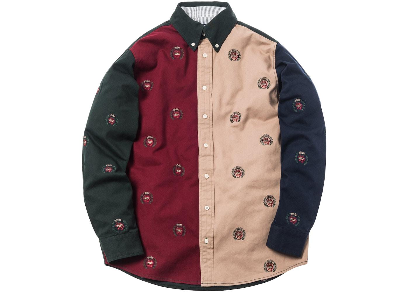 7e281f8f Kith x Tommy Hilfiger Twill Woven Shirt Multi - FW18