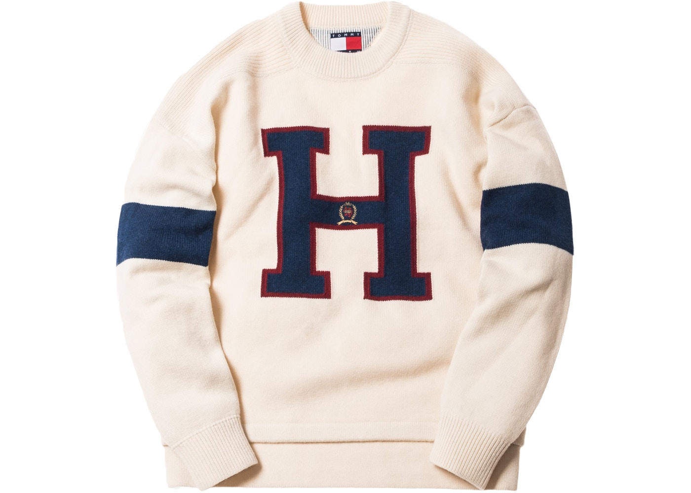 00ace08a Kith x Tommy Hilfiger Varsity H Sweater Ivory - FW18