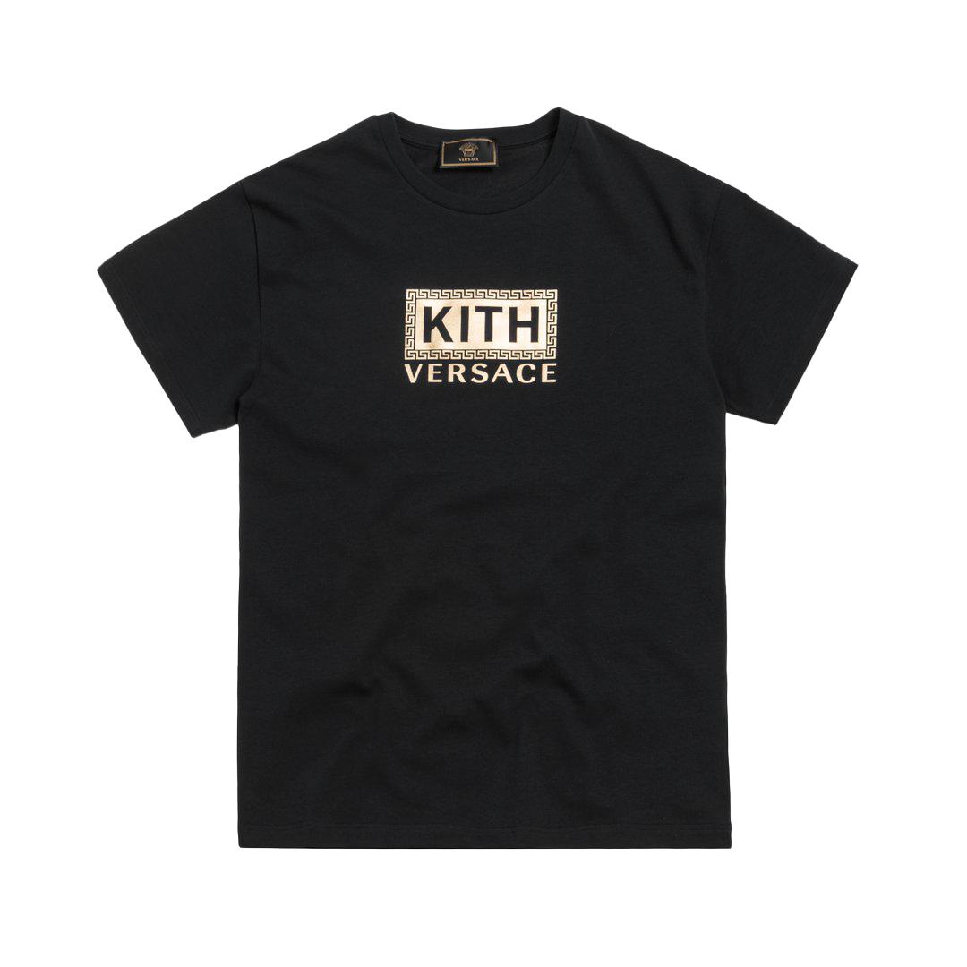 Kith x Versace Greek Key Tee Black