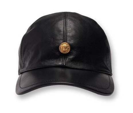 Kith x Versace Leather Cap Black