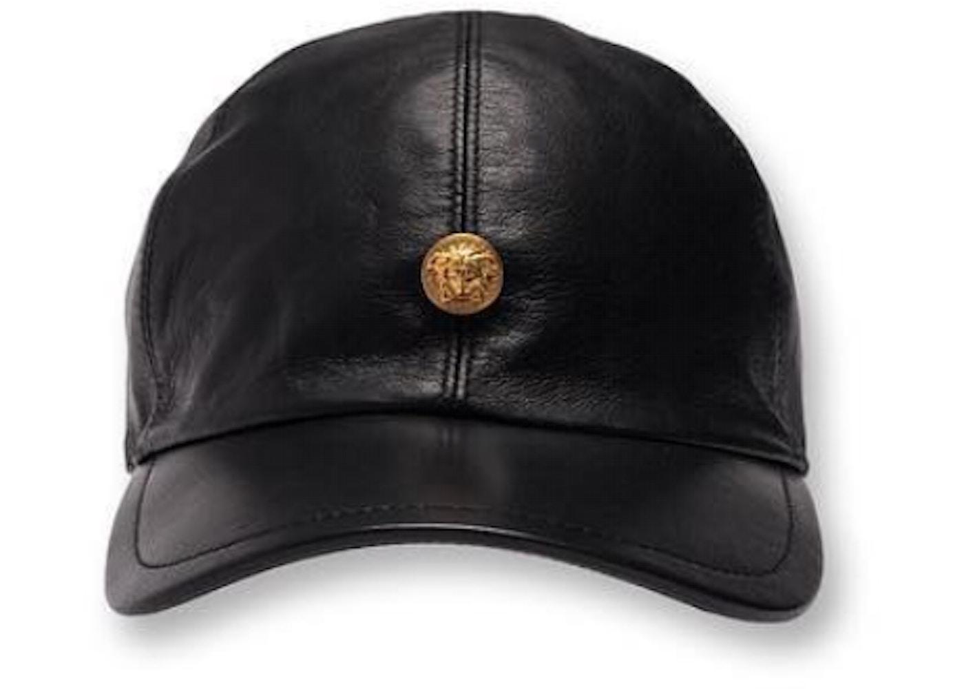 Kith x Versace Leather Cap Black - SS19 01b21b9c53b