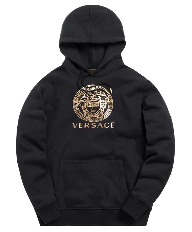 Kith x Versace Medusa Hoodie Black