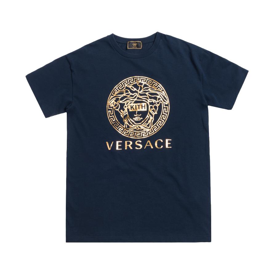 Kith x Versace Medusa Tee Navy