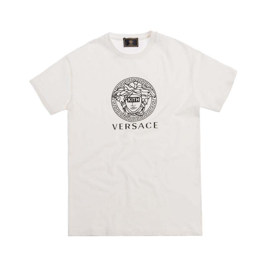 Kith x Versace Medusa Tee Off-White