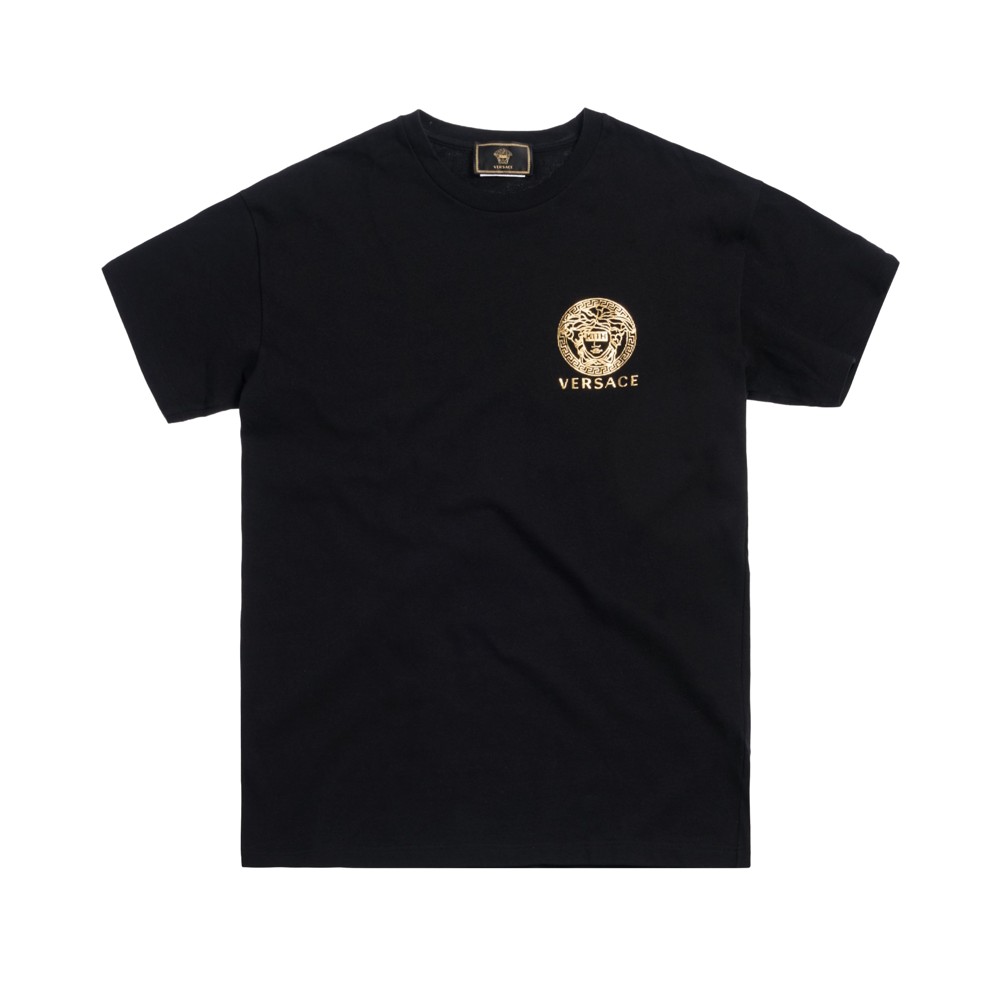 Kith x Versace Mini Medusa Tee Black/Gold