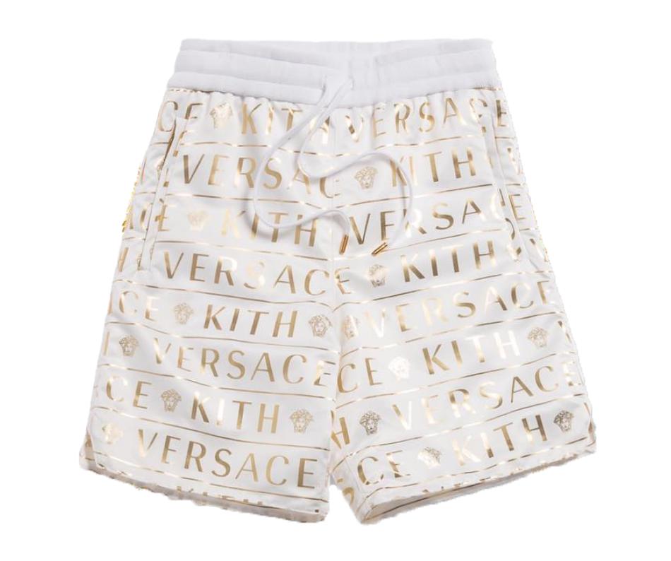 Kith x Versace Monogram Nylon Short White