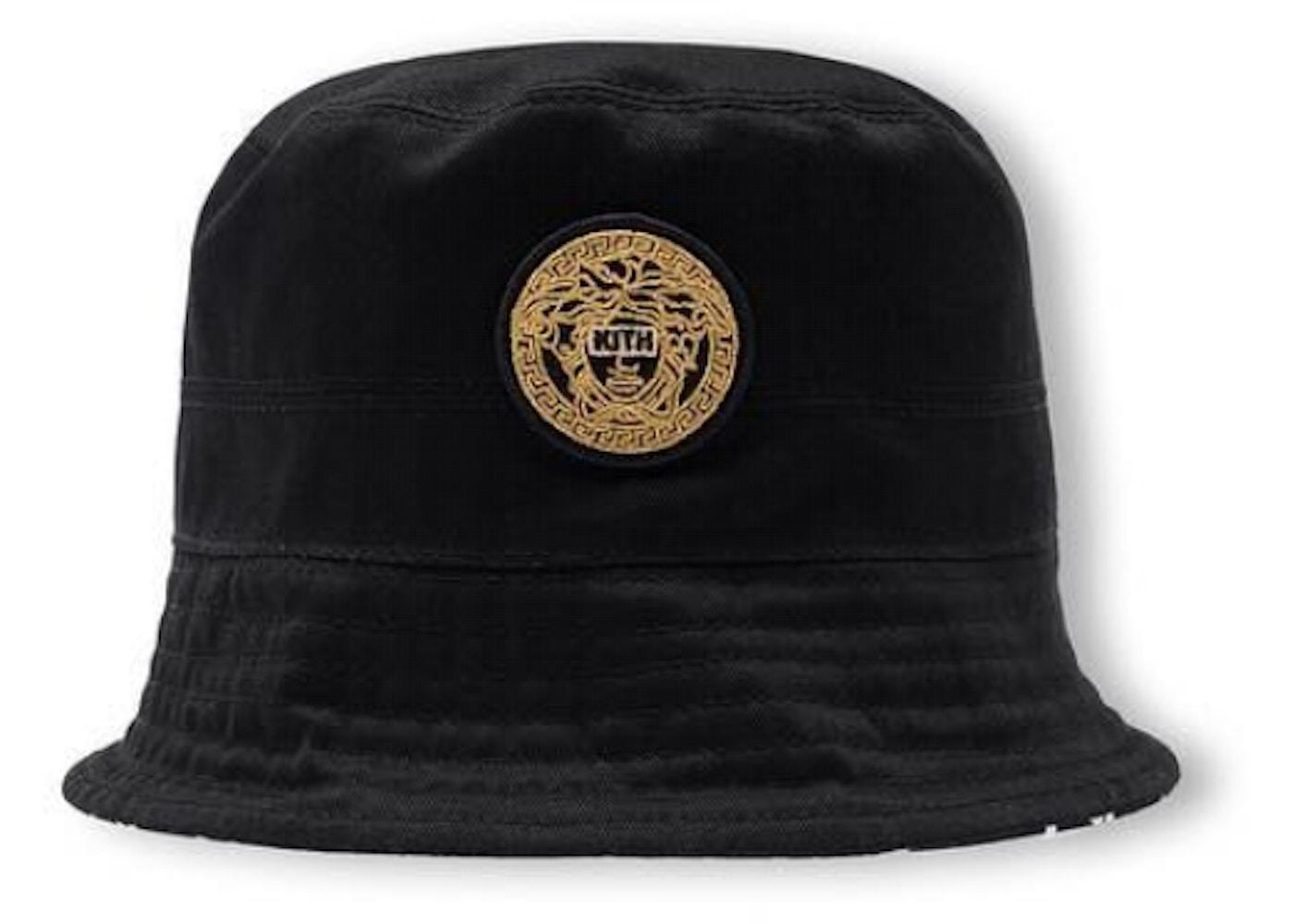 04b21d516acda Kith x Versace Reversible Bucket Hat Black - SS19