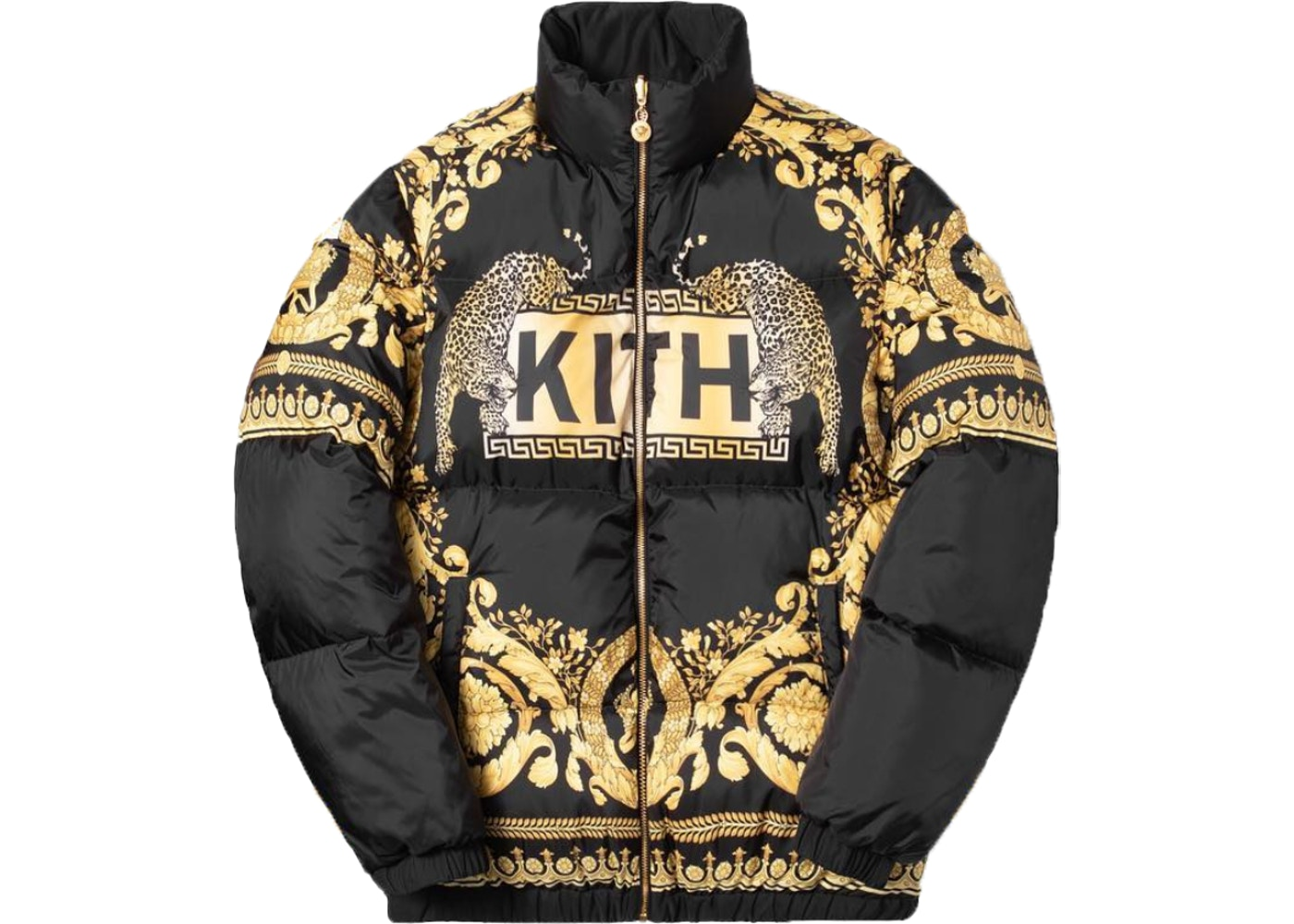 Kith x Versace Reversible Down Jacket Black
