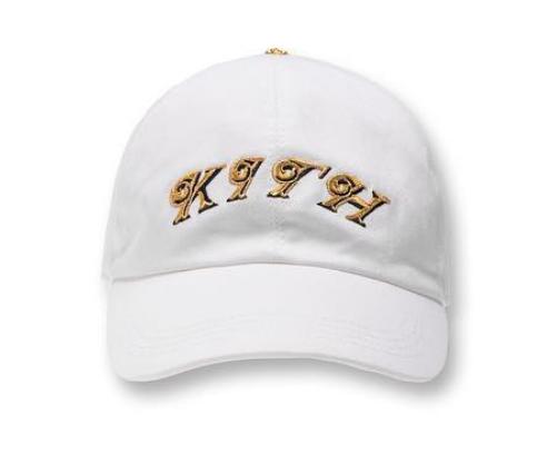 Kith x Versace Script Cap White