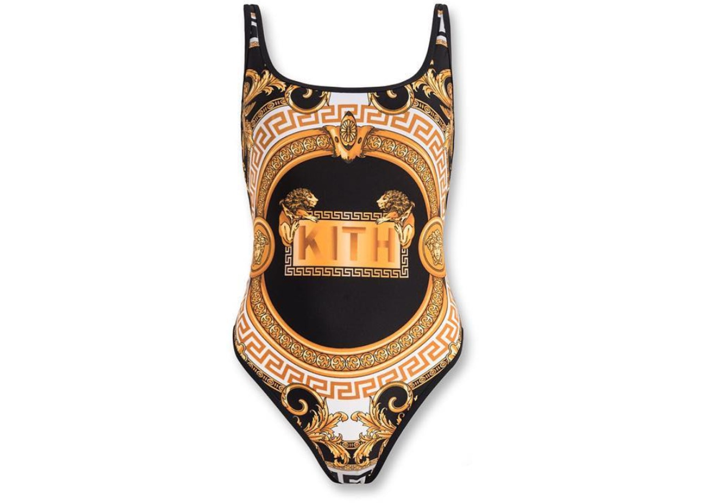 50eb79a300 Kith x Versace Women's One Piece Swimsuit Gold - SS19
