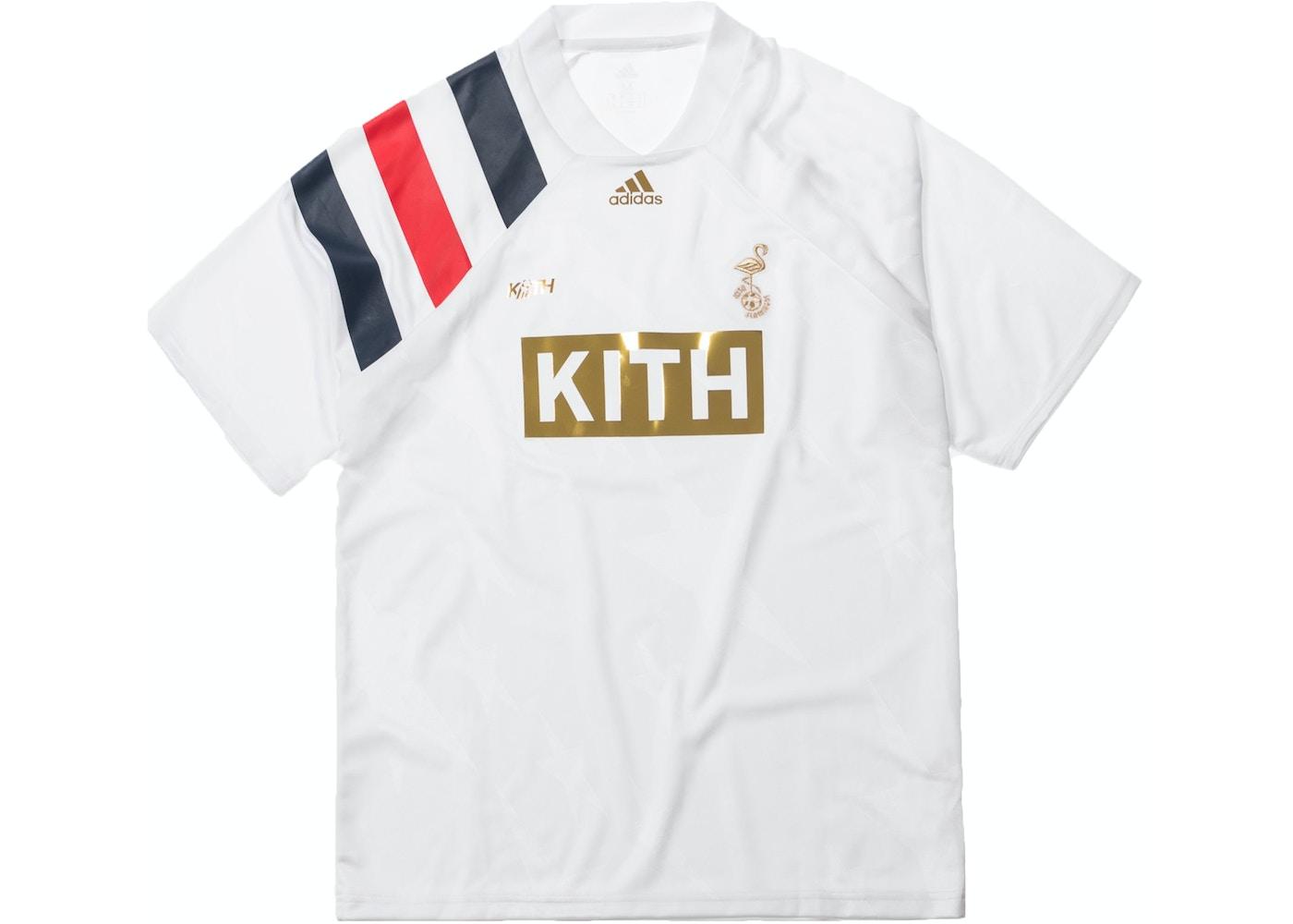 b25019e7 Kith x adidas Match Jersey Flamingos Home. x adidas Match