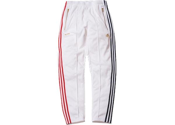 055f3a3c Kith x adidas Soccer 3-Stripes Track Pant White