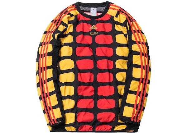 69569981 Kith x adidas Soccer Goalie Jersey Cobras