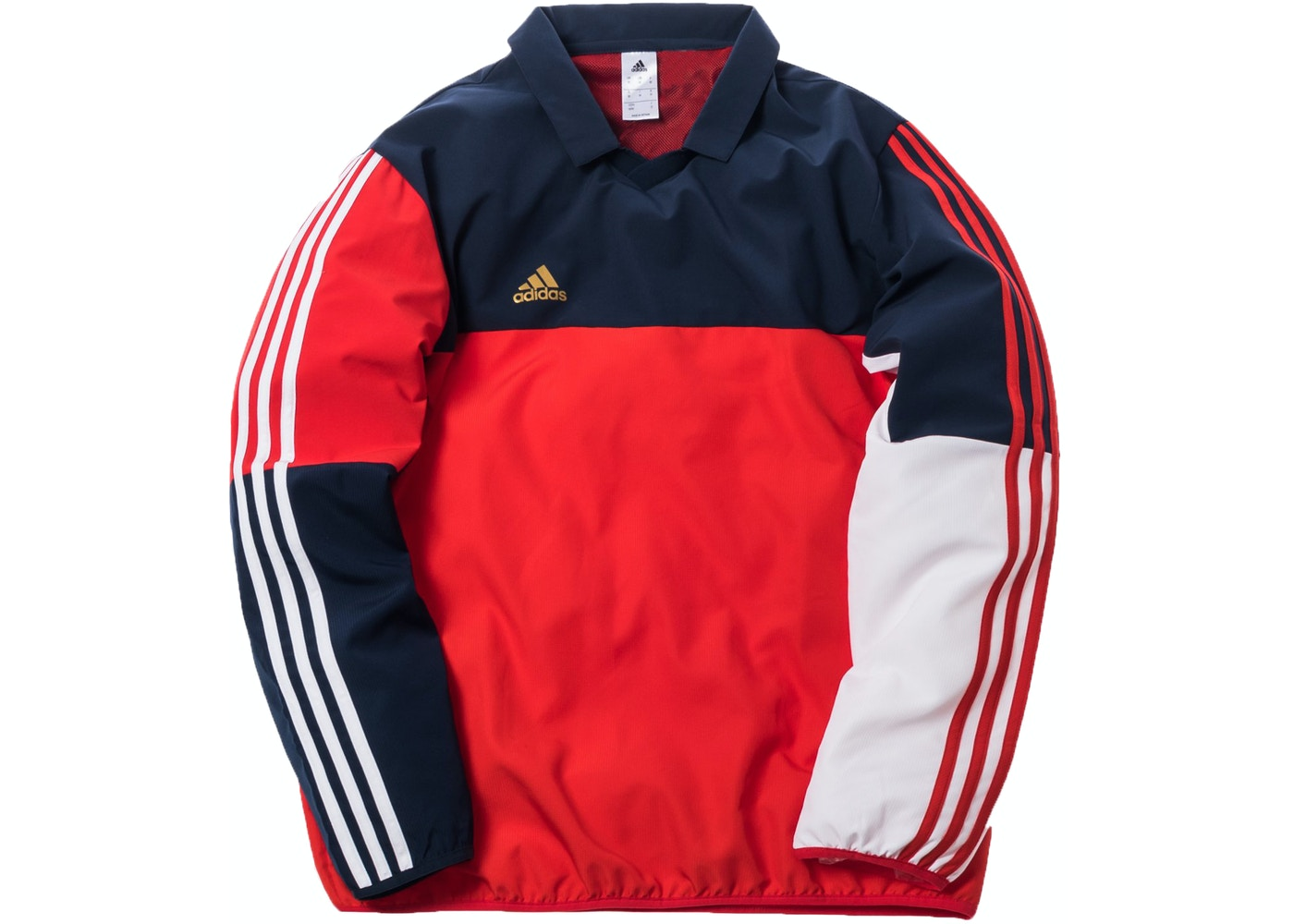 uk availability b58df 2eae6 Kith x adidas Soccer Sideline Polo Navy/Red