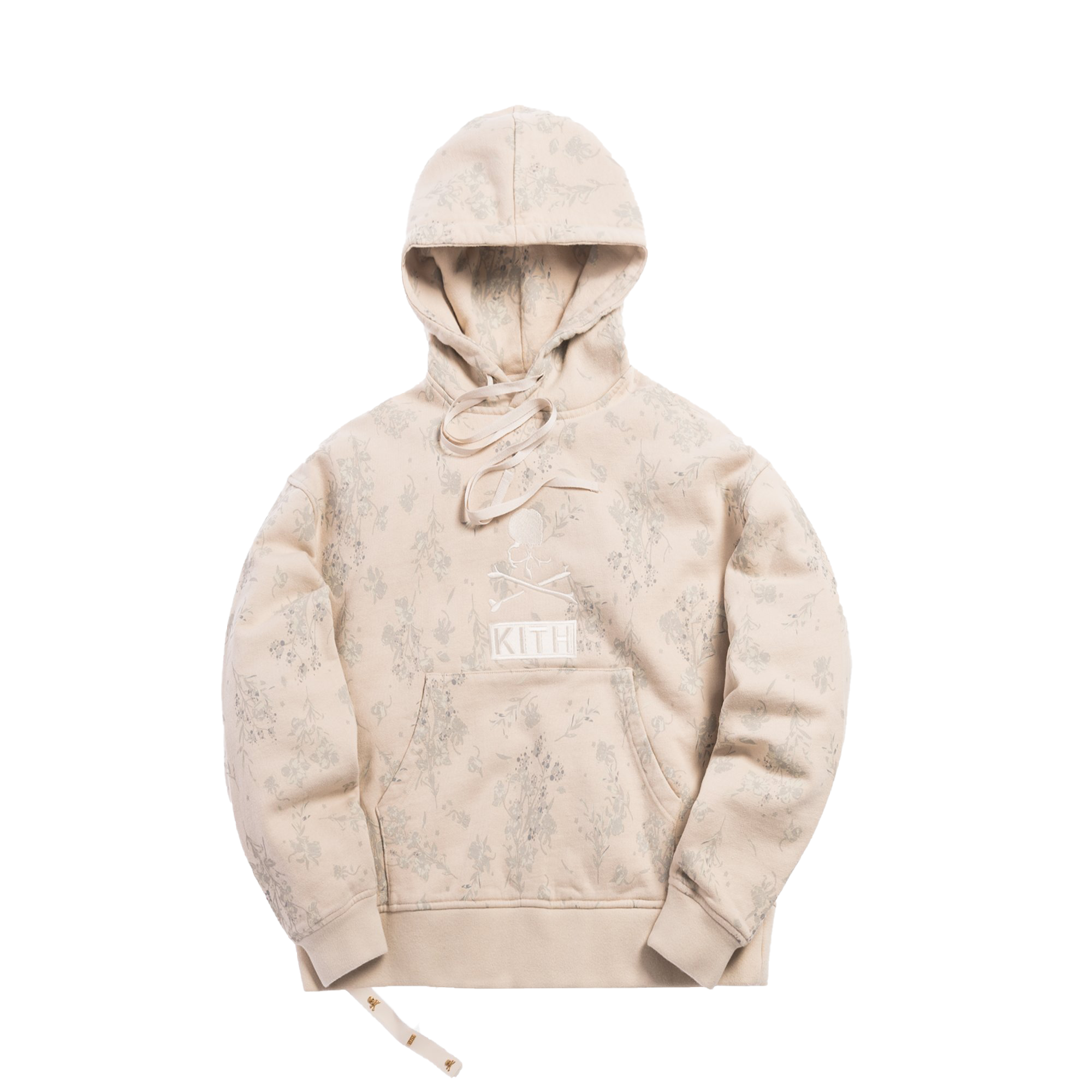 Kith x mastermind WORLD Fleece Pullover Hoodie Turtle Dove