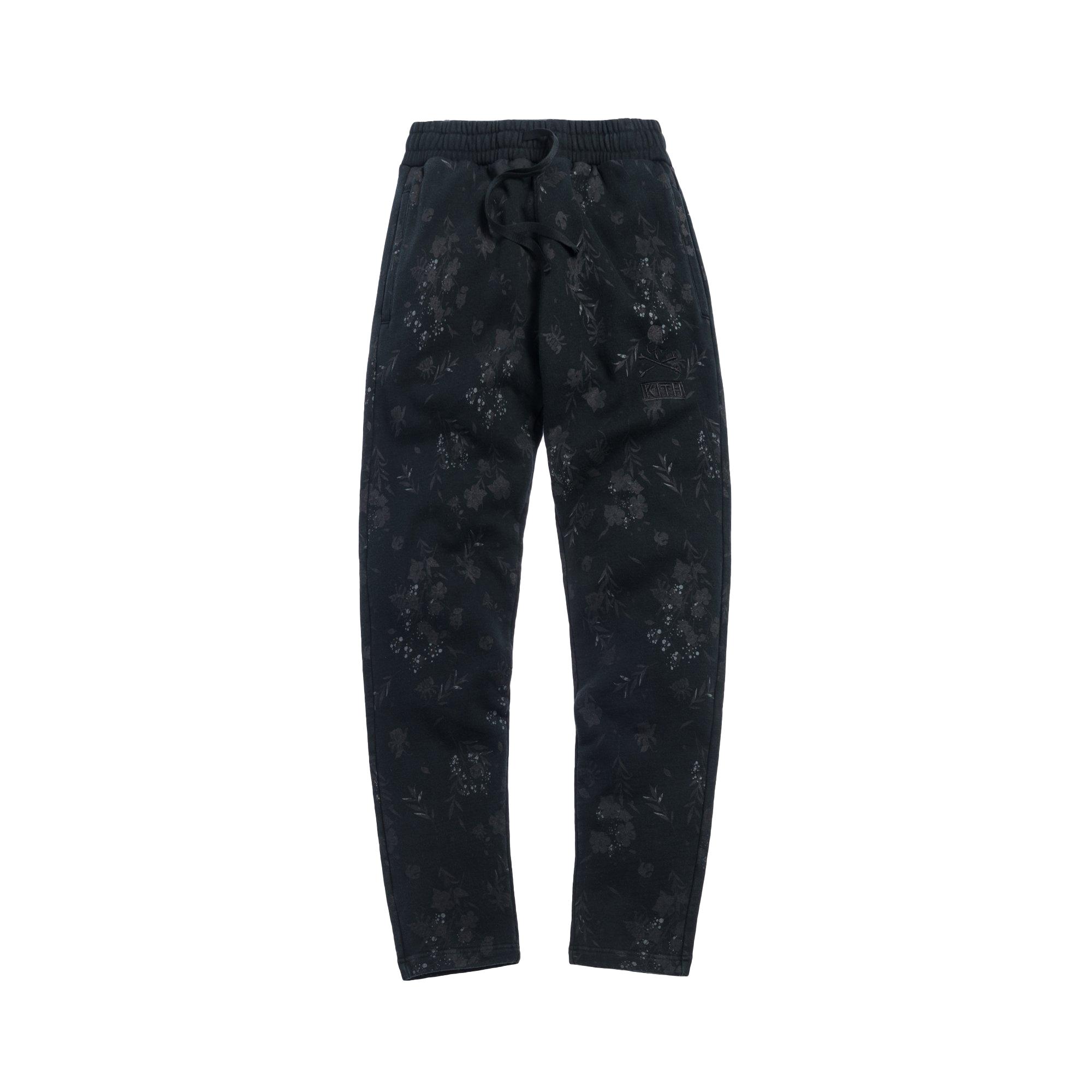 Kith x mastermind WORLD Fleece Sweatpants Black