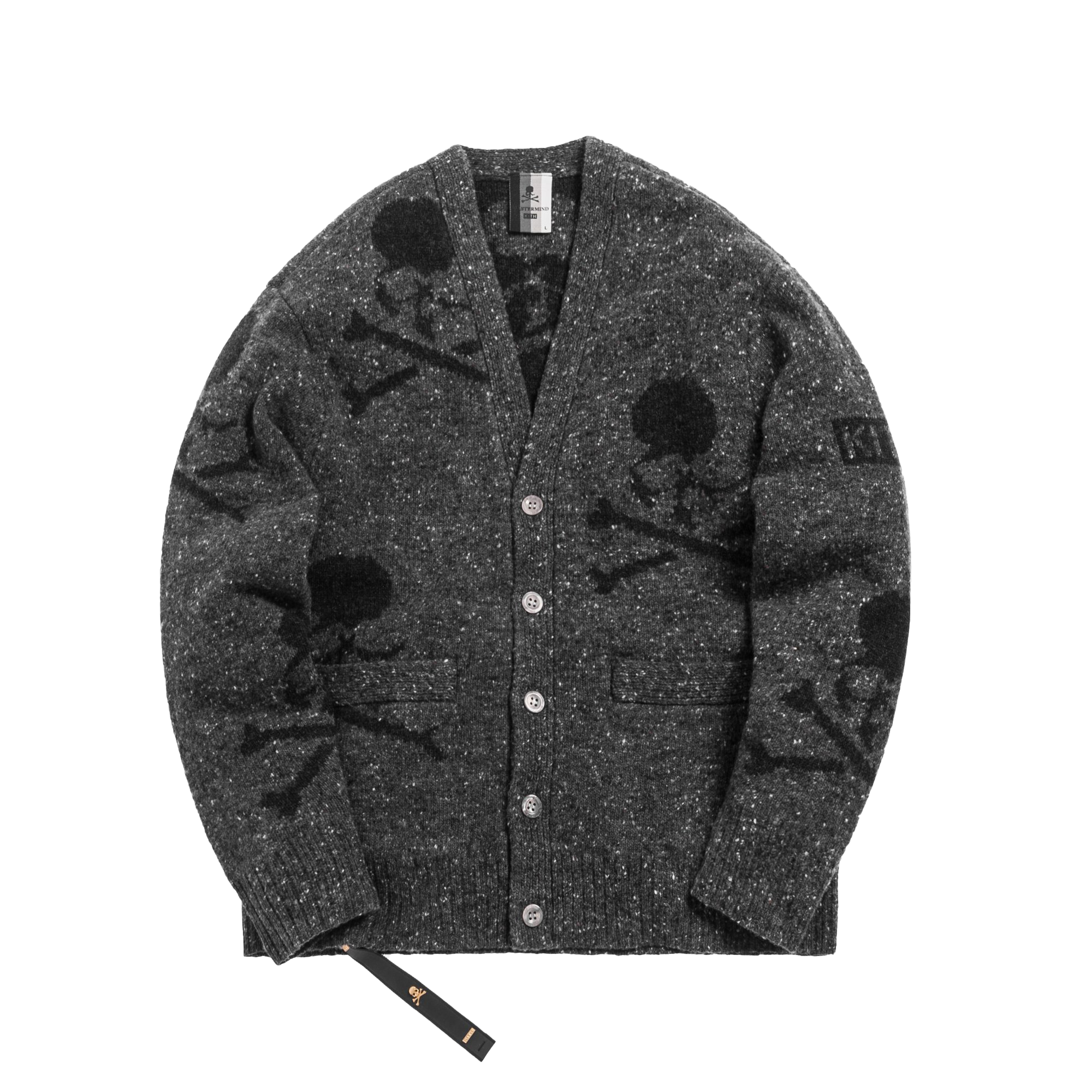 Kith x mastermind WORLD Knit Cardigan Black