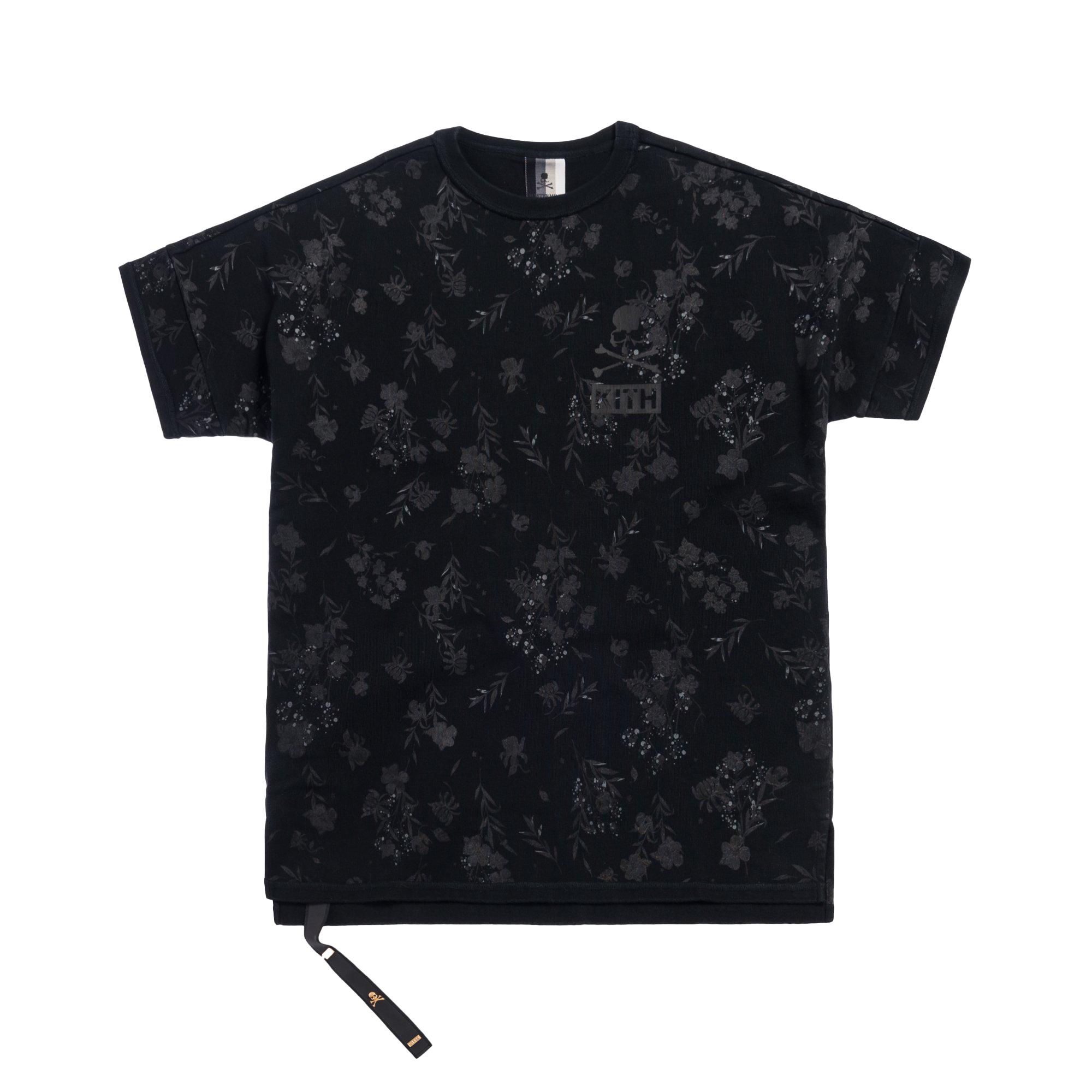 Kith x mastermind WORLD Reverse Floral Tee Black